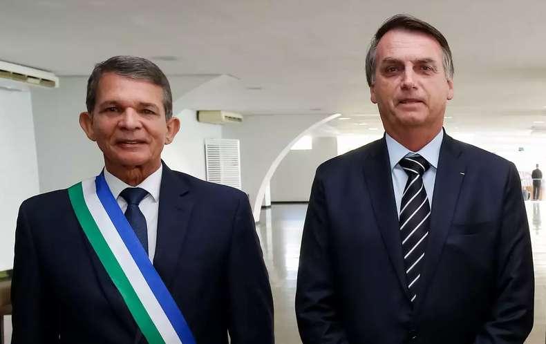 Bolsonaro indicou o general Joaquim Silva e Luna para a presid