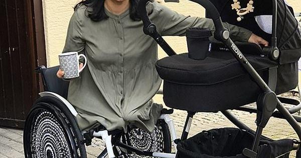 Mãe-de-1ª-viagem-conta-como-cuida-de-bebê-após-perder-pernas-Fotos